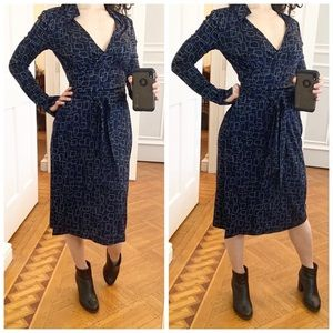 Diane von Furstenberg Silk Wrap Jeanne Dress